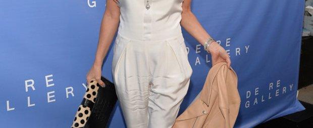 Demi Moore zeigt einen eleganten Jumpsuit