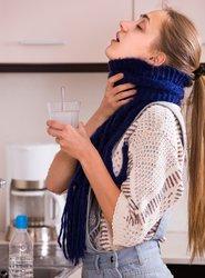 Salzwasser gegen Halschmerzen