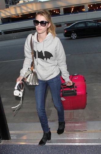 Emma Roberts am LAX