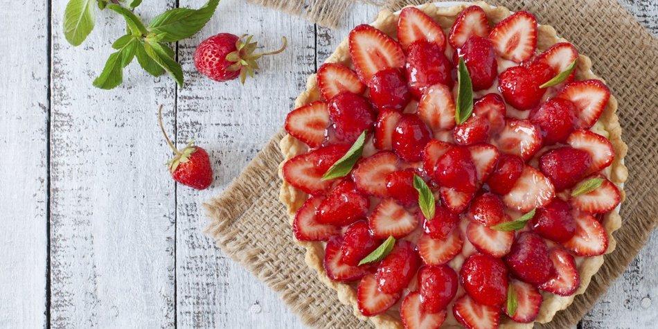 Leckere Rezepte für Erdbeerkuchen
