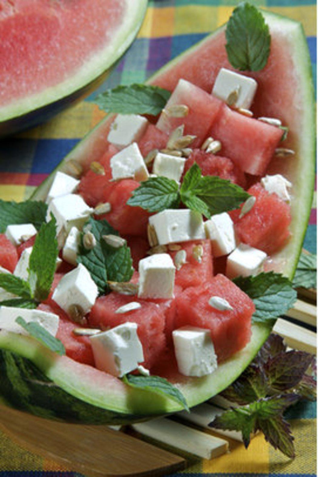 Blickfang Abnehmen Mit Wassermelone Beste Wahl Rezepte Für Einen Leichten Salat Melone
