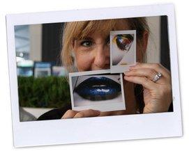 Cheryl vom Media Riser hatte auch Spaß mit den Instax-Bildern!