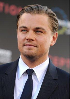 Leonardo DiCaprio am feiern.