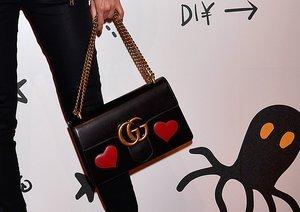 Retro-Design mit Herzen von Gucci