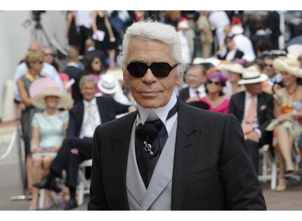Karl Lagerfeld launcht neue Modelinie.