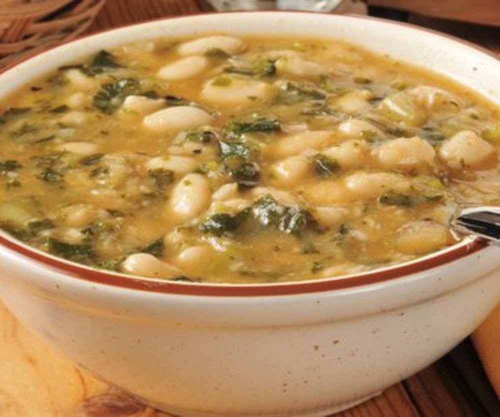 Weiße Bohnen Suppe