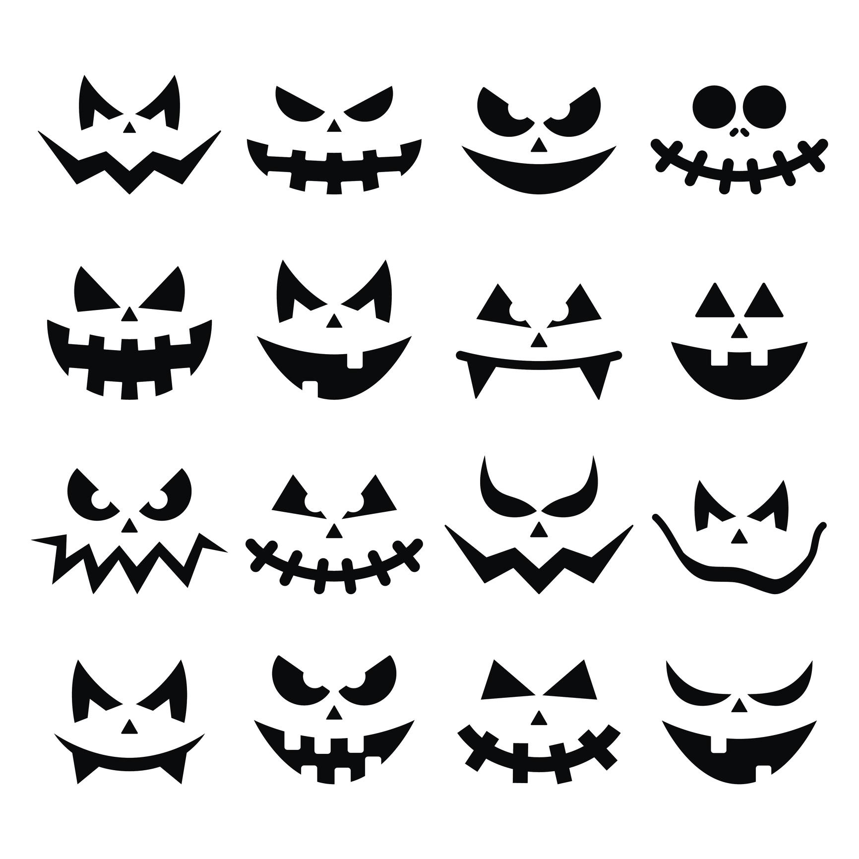 Halloween Kurbis Schnitzen Vorlagen Lustiges