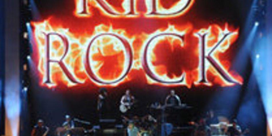 Kid Rock in Köln: Stefan Raab stürmt die Bühne