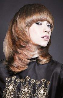 frisuren rote haare mittellang