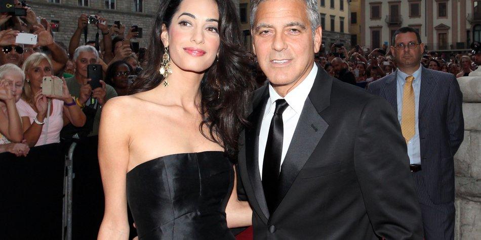 George Clooney: Heiratet er bereits am Freitag?