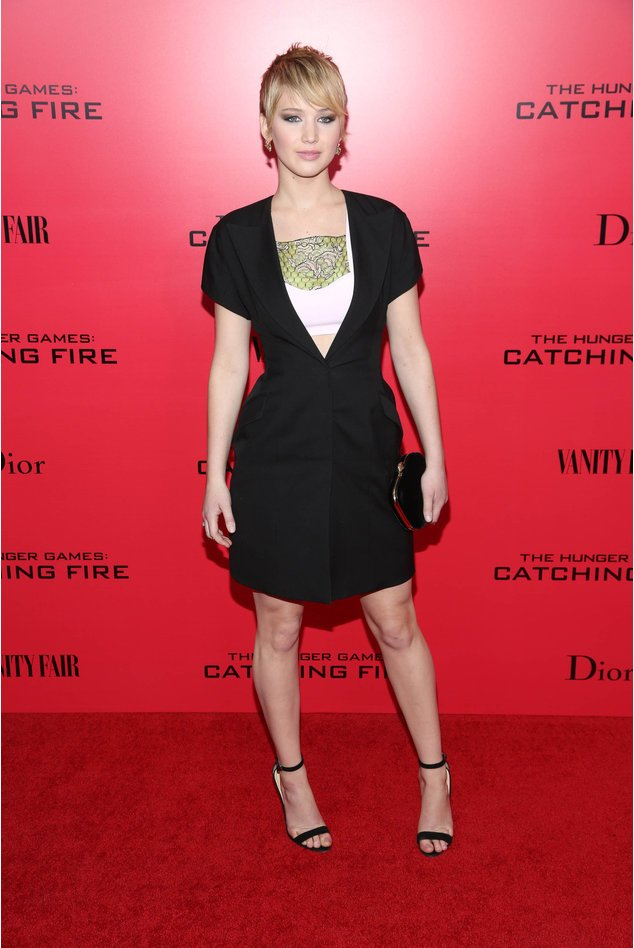 Jennifer Lawrence bei einer Filmpremiere