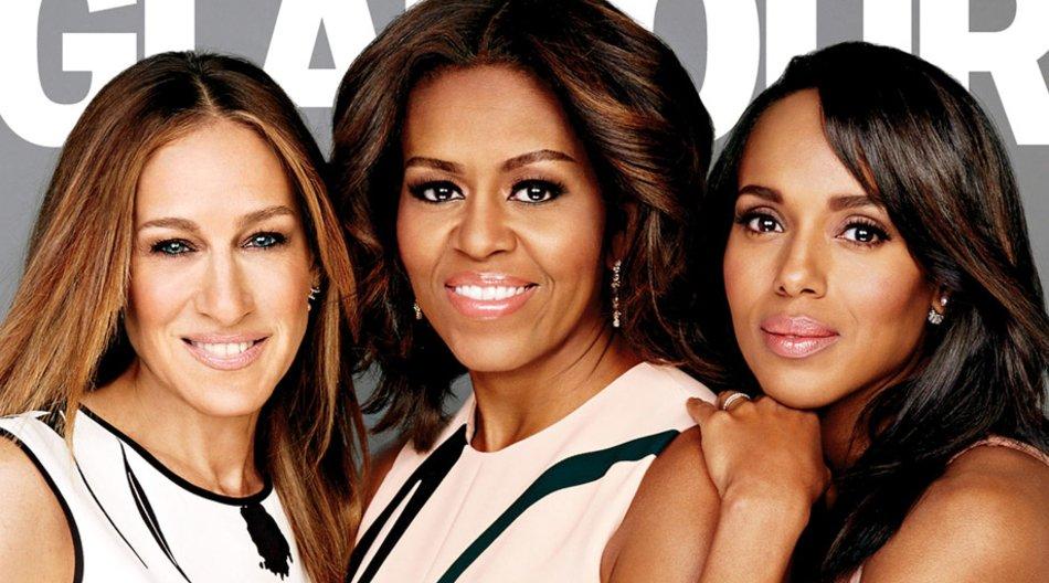 Sarah Jessica Parker, Michelle Obama und Kerry Washington