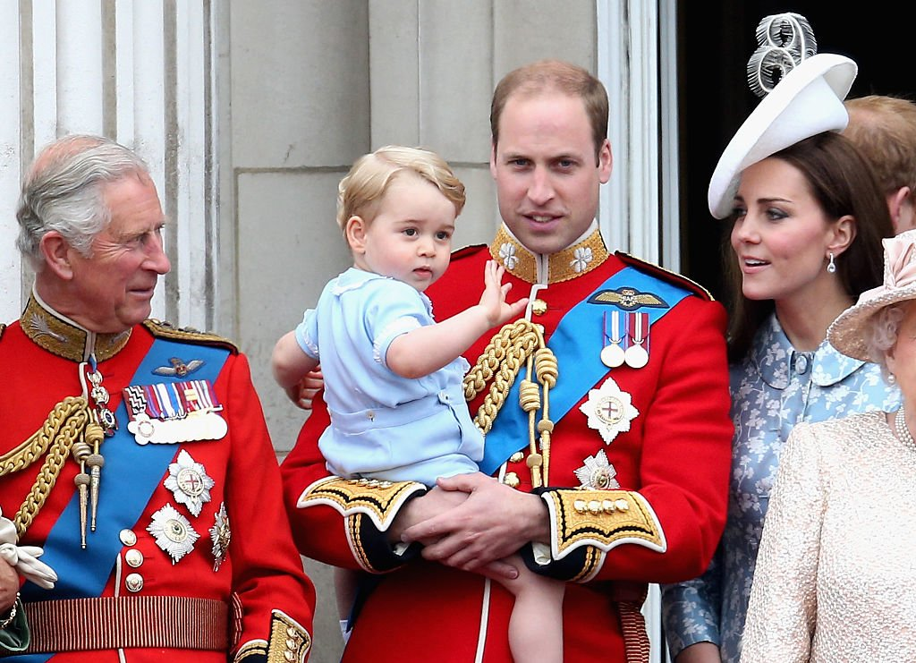 Trooping The Colour Prinz George