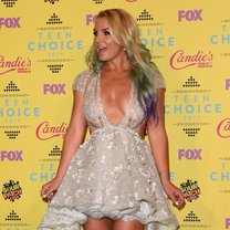poses in the press room during the Teen Choice Awards 2015 at the USC Galen Center on August 16, 2015 in Los Angeles, California.