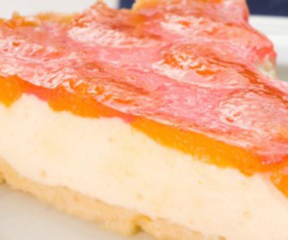 Mandarinen Schmand Kuchen mit VERPOORTEN ORIGINAL Eierlikör