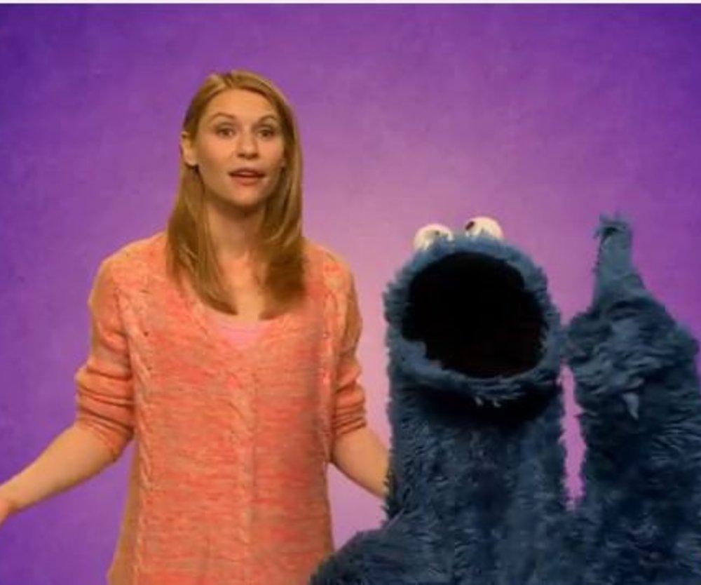 Claire Danes in der Sesamstraße