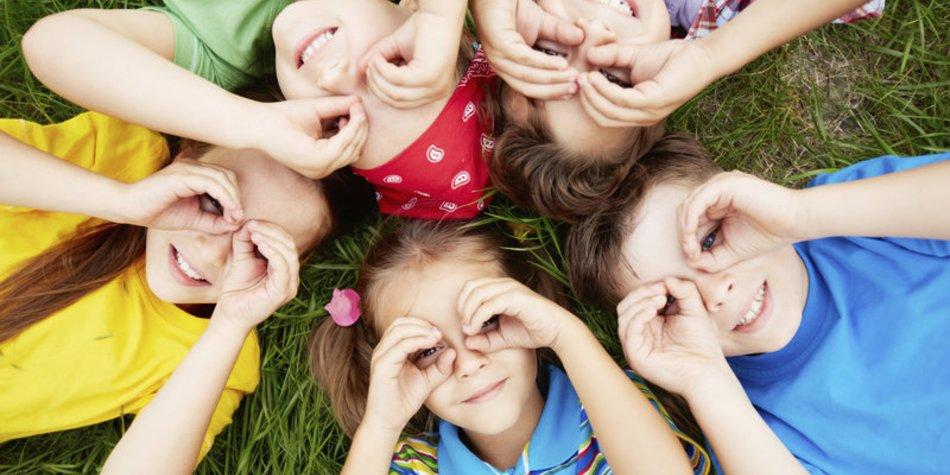 Kreisspiele im Kindergarten