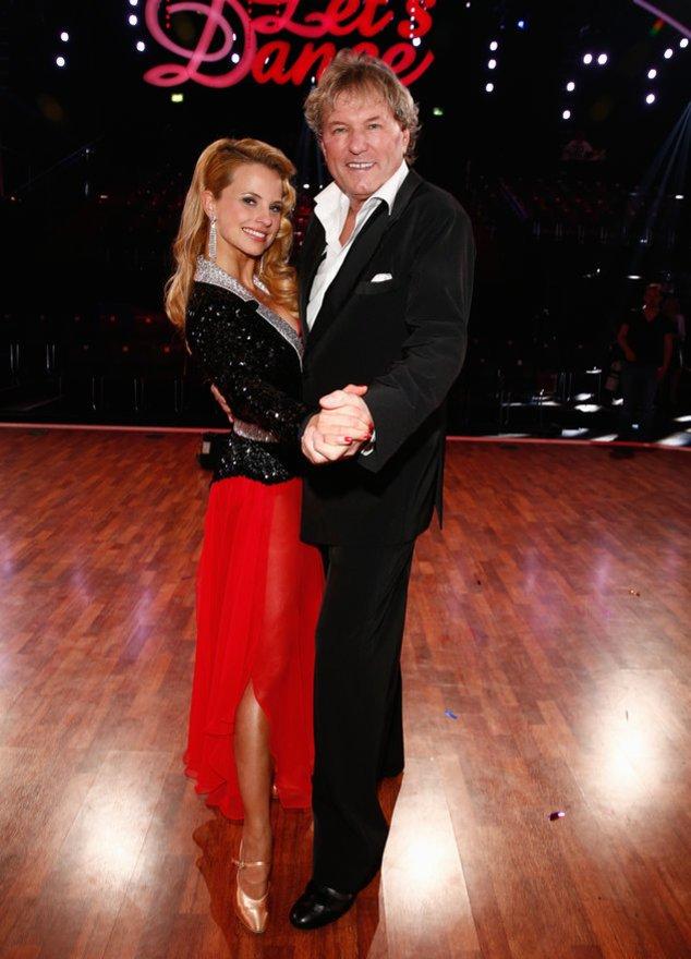 Let`s Dance: Bernhard Brink mit seiner Tanzpartnerin Sarah Latton