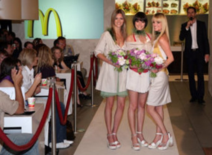 McDonals, Fotoshot, germanys Next Topmodel