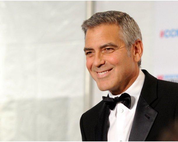 George Clooney als Angela Merkel? Kaum vorstellbar!