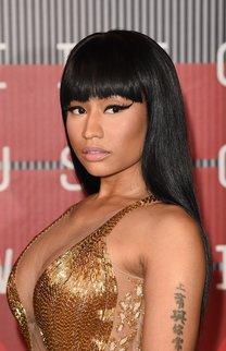 Nicki Minaj: Kleopatra-Frisur