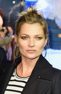 Kate Moss: Steckfrisur