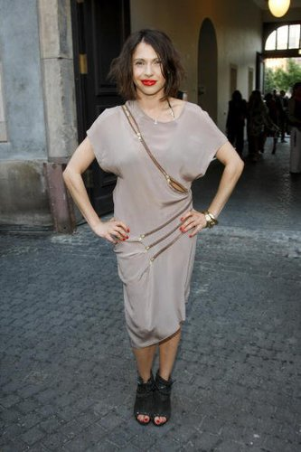 Jana Pallaske auf der Berliner Fashion Week 2010
