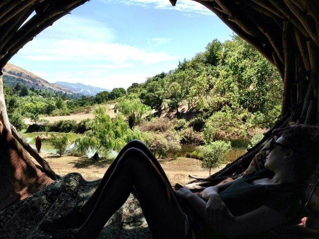 Lea Michele findet in der Natur Ruhe