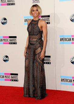 Ciara auf dem roten Teppich