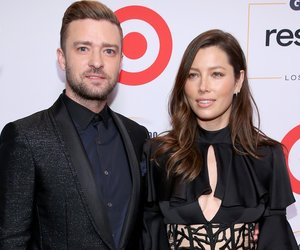 BEVERLY HILLS, CA - OCTOBER 23: Honorees Justin Timberlake (L) and Jessica Biel attend the 2015 GLSEN Respect Awards at the Beverly Wilshire Four Seasons Hotel on October 23, 2015 in Beverly Hills, California. (Photo by Jonathan Leibson/Getty Images for GLSEN)