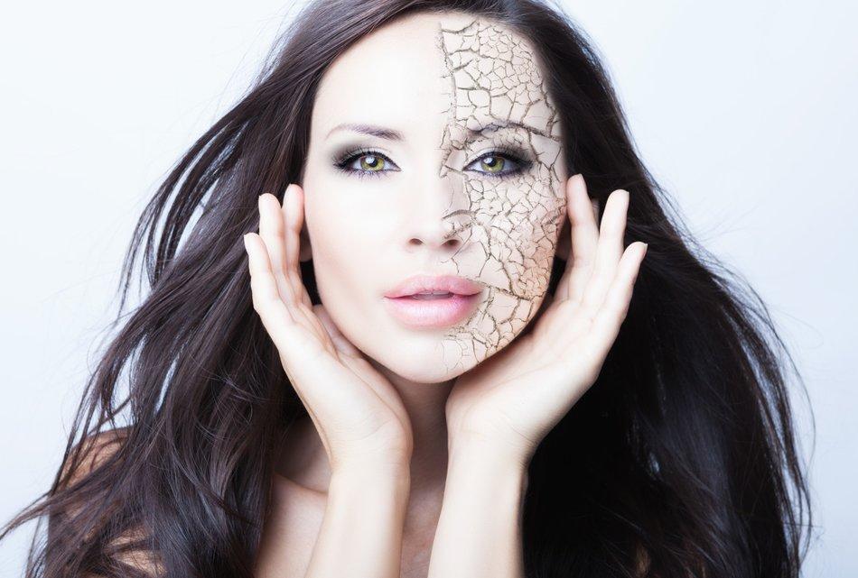 Make-up für trockene Haut