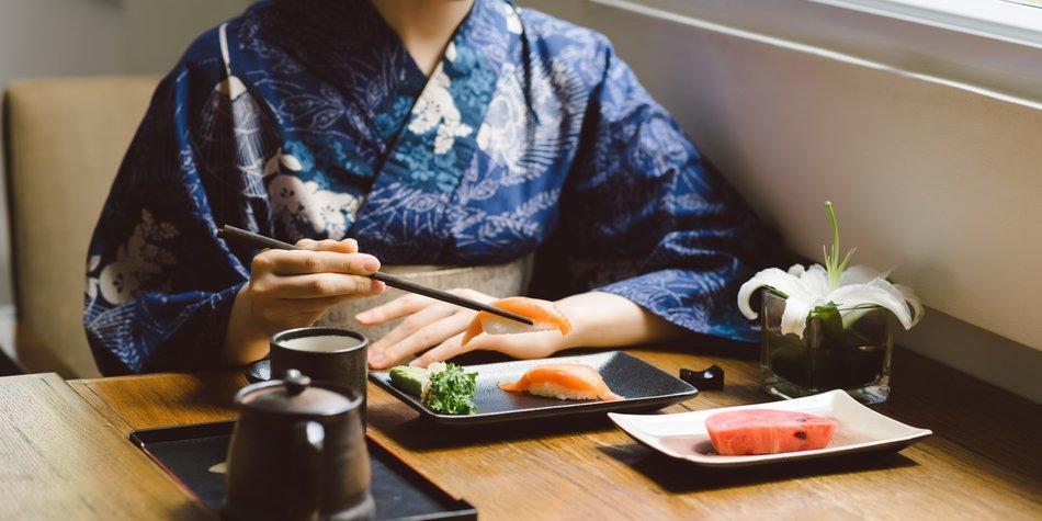 Sushi richtig essen