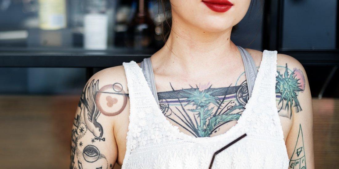 dezente männer tattoos