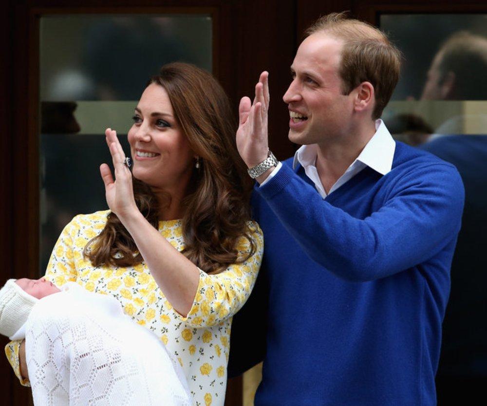 Wer wird der Taufpate von Prinzessin Charlotte?