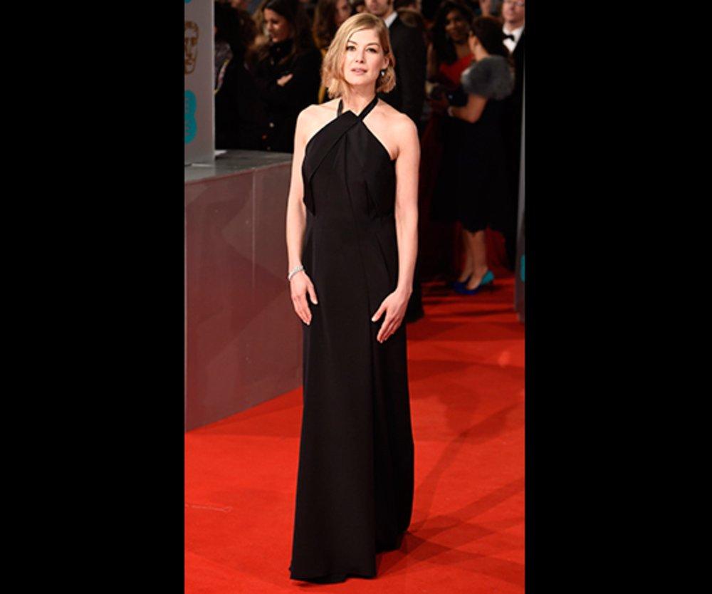 BAFTA 2015 Rosamund Pike