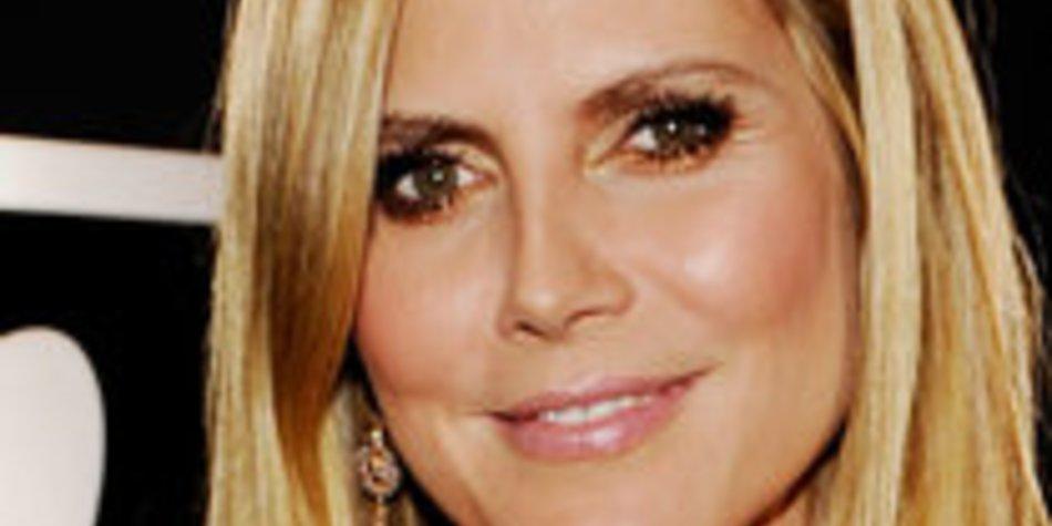 Heidi Klum: Wieder voll in Action!