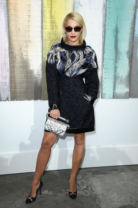 Rita Ora in Paris