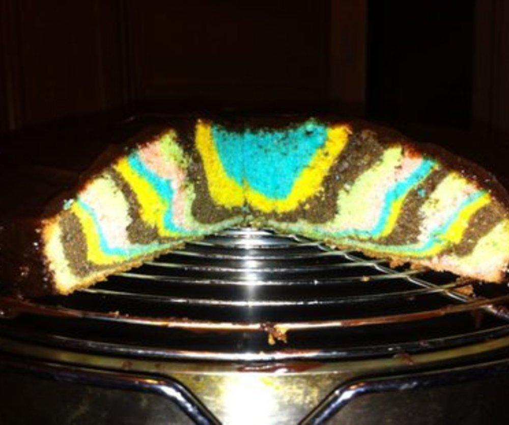 Bunte Kuchen