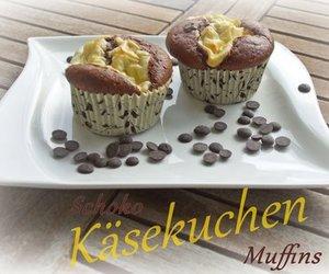 Schoko-Käsekuchen-Muffins I