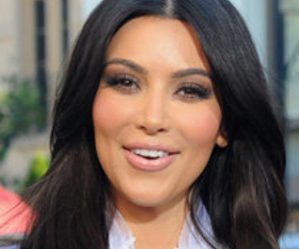 Kim Kardashian dementiert eine Schwangerschaft