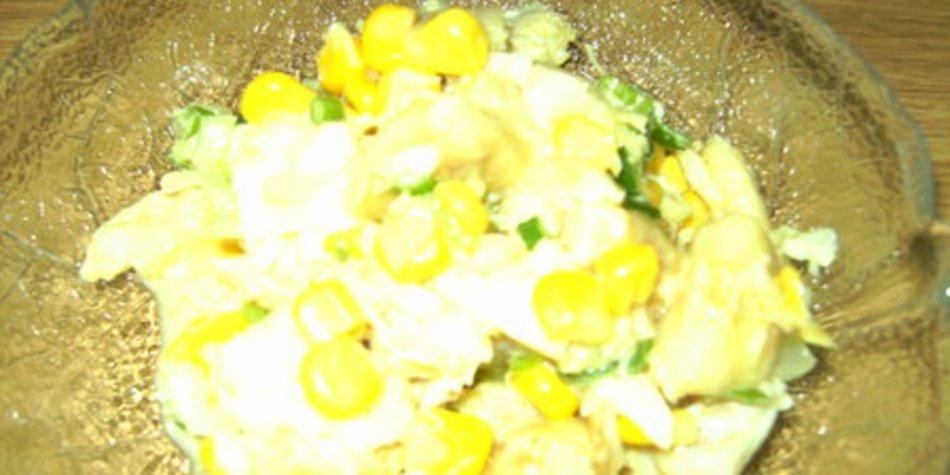 Fisch- Curry- Salat