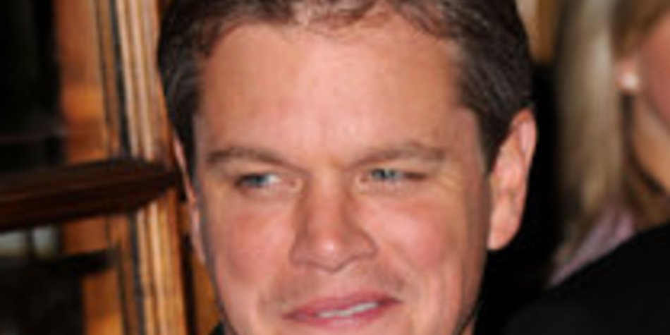 Matt Damon ist zuhause der Sündenbock