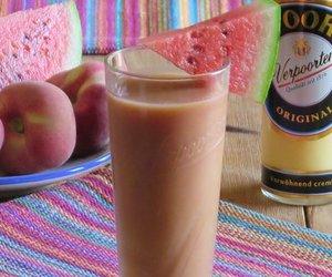 Pfirsich Melonen Smoothie