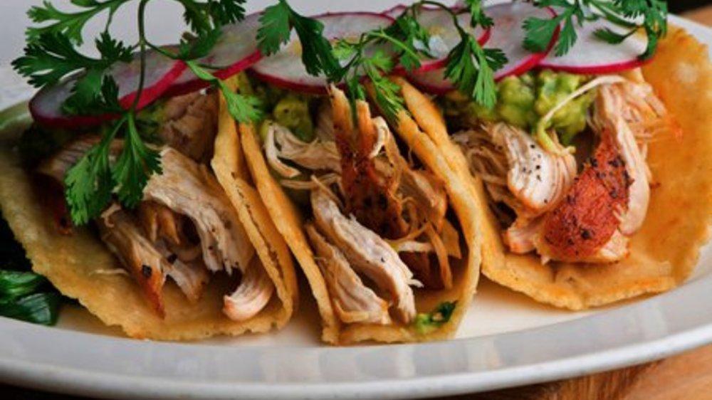 Gefüllte Tacos
