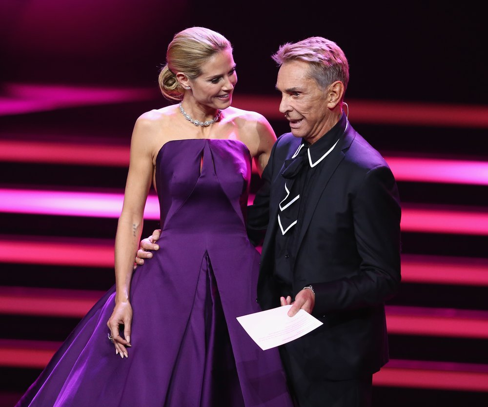 Heidi Klum und Wolfgang Joop