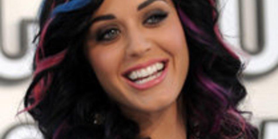 Katy Perry und Russell Brand sind auf dem Boden geblieben