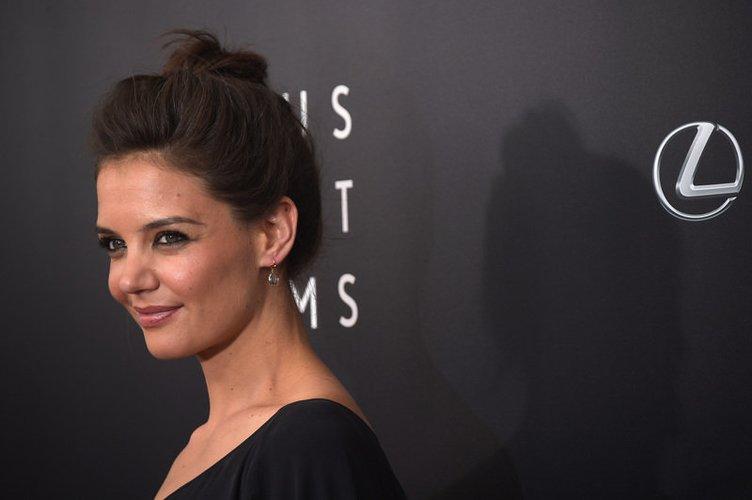 """Katie Holmes stellt ihren neuen Film """"The Giver"""" vor"""