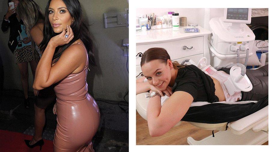Kim Kardashian / Lipoglaze Butt Lift