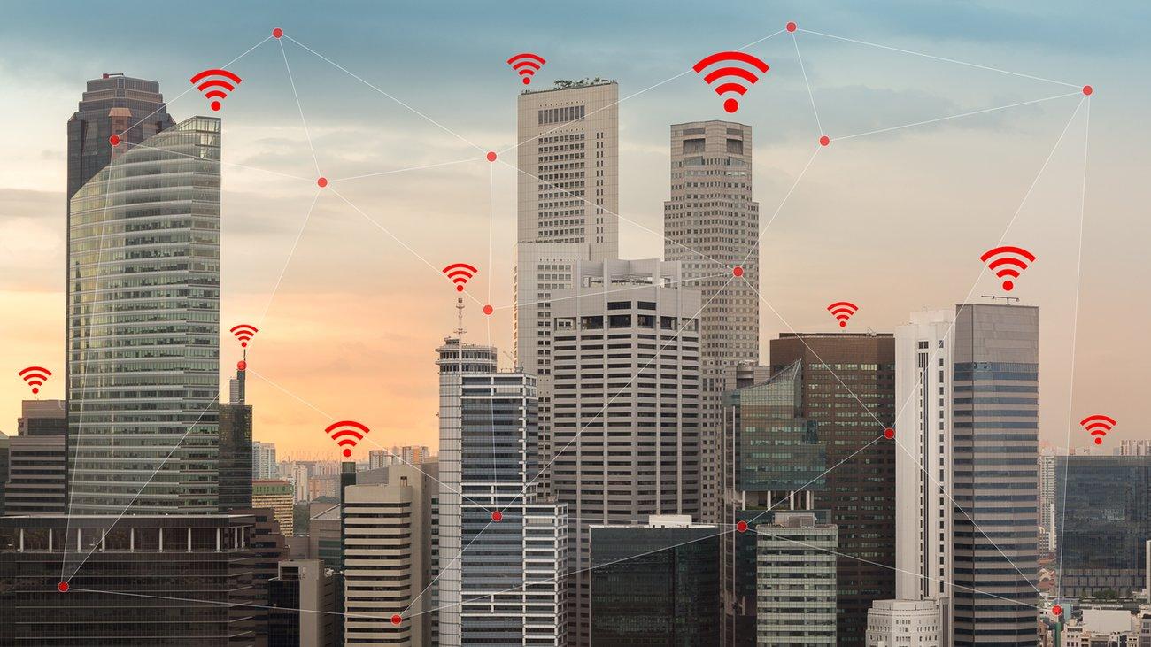 WiFi Stadt