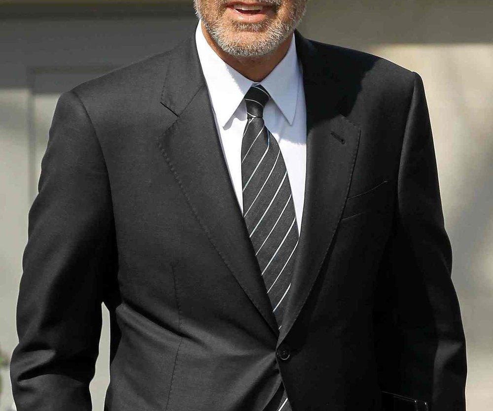 George Clooney besucht Präsident Obama